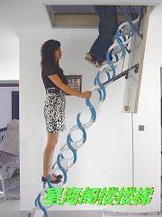 上海/上海阁楼楼梯星海伸缩楼梯家用梯子室内楼梯...