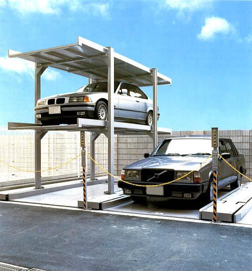 车库升降杆结构示意图
