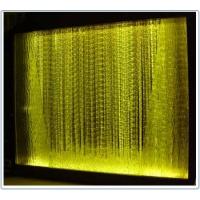九江光纤照明装饰工程--光纤流水瀑布灯