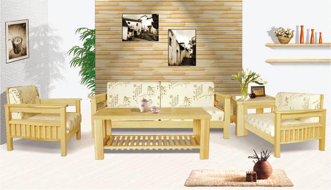 木架布艺沙发