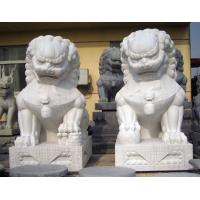 销售石狮子,石材雕刻石狮子