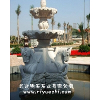 武汉石雕喷泉