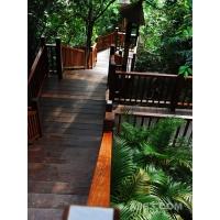 防腐木|户外地板和扶手