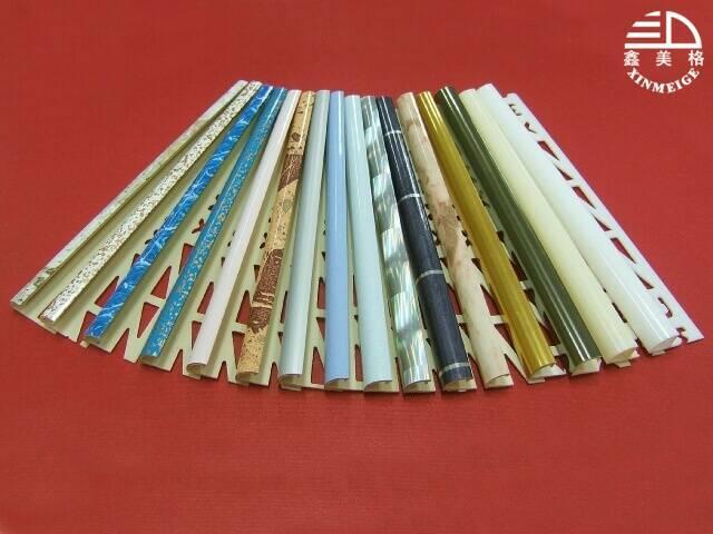 供应高档pvc阳角线 供应pvc阳角线 pvc型材 瓷砖修边线 高清图片