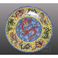 龙年陶瓷礼品,工艺盘,陶瓷大瓷盘