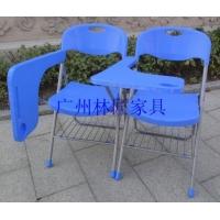 广州新款折叠椅订做,带写字板培训椅