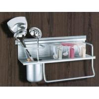 高斯达/卡罗特 太空铝厨房挂件,筷子架,多功能置物架,刀架,