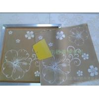 供應華塑50*50新型透明絲印模具 平面/質感液體壁紙模具