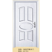 供应美固铣型平雕木门M-102