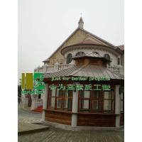 炭化木(碳化木)木屋