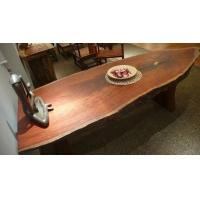 高山巴花花梨原木自然环保大板多功能桌