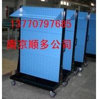 物料整理架,百叶挂板,方孔挂板,双面物料整理架   -137