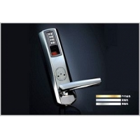 爱迪尔指纹锁8908型/最畅销防盗门带天地杆指纹锁