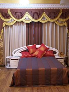 北京布艺窗帘,布艺窗帘图片
