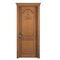 原木雕花烤漆门一门心思做好门