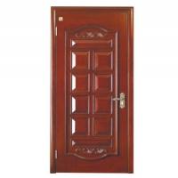 原木浮雕烤漆门