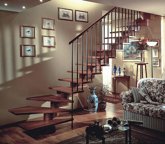圆形楼梯支模步骤图片
