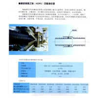 陕西西安银磊HDPE双壁波纹管