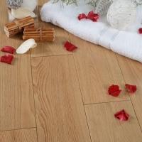 橡木实木地板 方饰地板 标板 宽板 象牙白