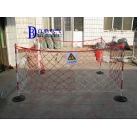 【整套配L6】高压安全围栏网高1.2米长度10米/张配支架挂