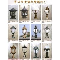 ya73838柱头灯系列|陕西西安路灯景观灯庭院灯