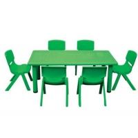 塑料长方桌、滚塑机、滚塑设备、儿童玩具