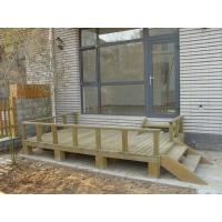 室外木地板 露台 木平台 防腐木地板