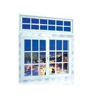塑钢、彩铝改装中空防盗防蚊窗