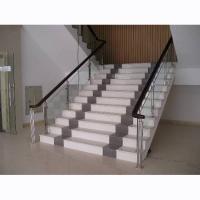 工程扶手 护栏1 |陕西西安实木楼梯钢木楼梯
