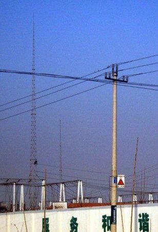 避雷针塔采用钢管作为塔柱材料