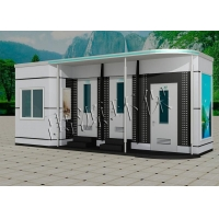 厂家直销各式移动公厕 泡沫封堵型环保公厕造型美观