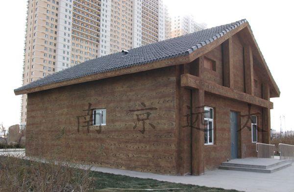 屋面仿木(木纹)