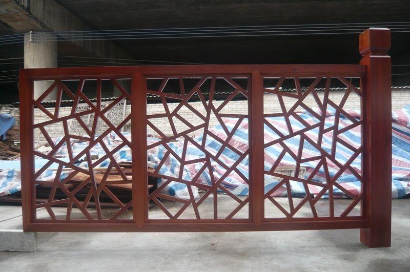 广州中式木雕窗花.仿古屏风木雕窗花