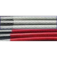 供应310不锈钢包胶绳,302不锈钢包胶绳