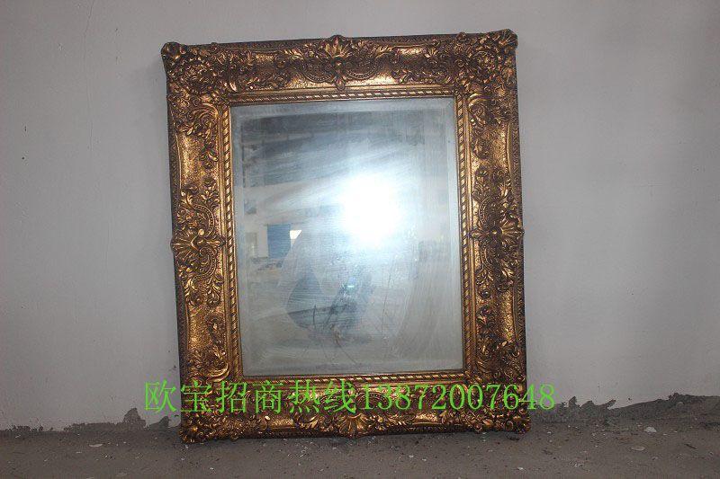 红木雕花镜框条图片