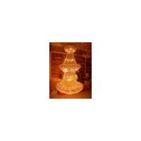 水晶吊灯客厅灯复式楼水晶灯酒店大厅灯