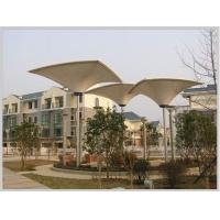 膜结构公司设计广场建筑-武汉玉龙岛水元居