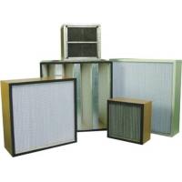 有隔板,无隔板,耐高温高效空气过滤器