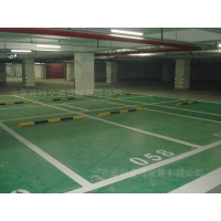 停车场地面翻新、停车场地面改造、停车场地面美化地坪
