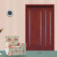 古典实木套装门 母子门 双开门招商加盟 实木复合门代理11-