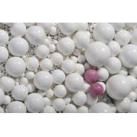 氧化铝耐磨小瓷珠,微晶氧化铝球石,0.5-13MM耐磨瓷球,