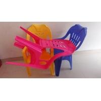 高质量大排档靠背扶手塑料椅