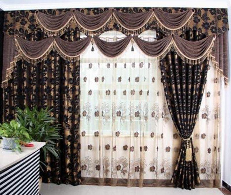 古典欧式风格窗帘 - 蔓延软装图片