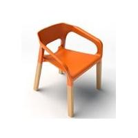广东塑木餐椅,实木餐椅,时尚塑料餐椅