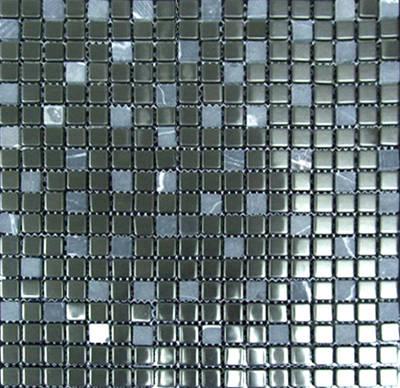 水晶金属混拼马赛克