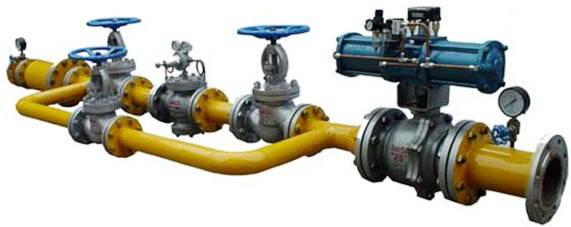 气体调压阀组(站)tyz适用于液化气,天然气,氮气,二氧化碳 气体管道的图片