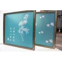 北京漆华仕电视背景墙沙发墙 内墙印花丝网模模具 可定做