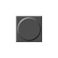单色圆浮点块材橡胶地板