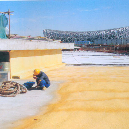 GS-PUF硬质聚氨酯屋面防水保温、隔热一体化系统