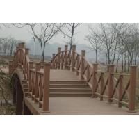 长期供应塑木地板、木塑护栏、木塑花架